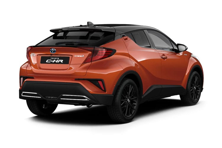 Toyota C-HR 5Dr 1.8 VVT-h 122PS Dynamic 5Dr CVT [Start Stop] [Lthr] back view