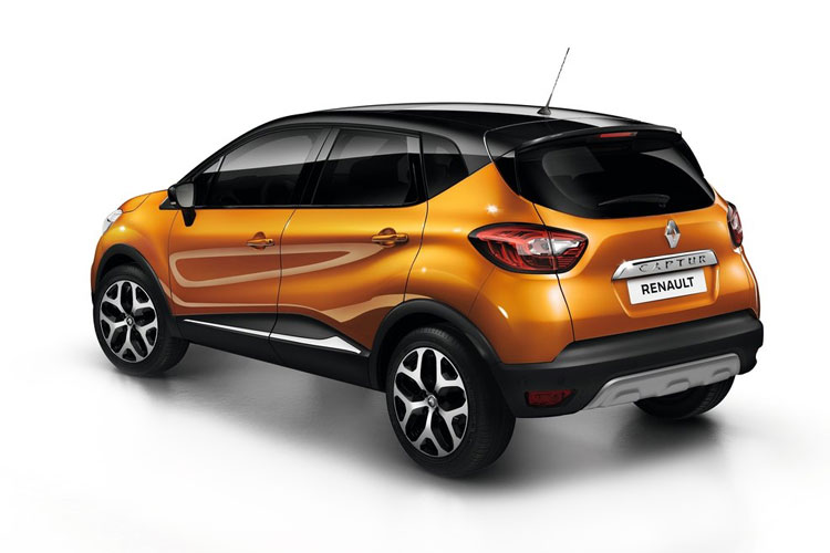 Renault Captur SUV 1.6 E-TECH PHEV 9.8kWh 160PS Launch Edition 5Dr Auto [Start Stop] back view