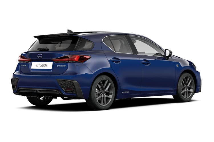 Lexus CT 200h Hatch 5Dr 1.8 h 136PS F-Sport 5Dr E-CVT [Start Stop] [Convenience Tech Lthr] back view