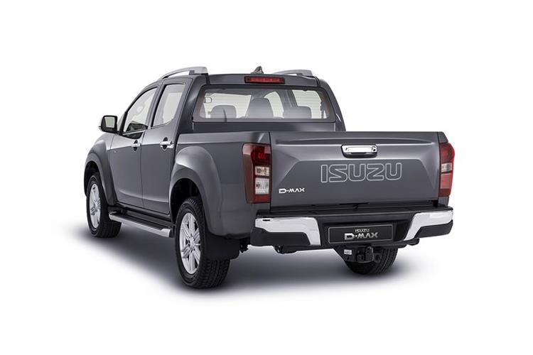Isuzu D-MAX Pick Up 1.9 TD RWD 164PS Utility Pickup Manual [Start Stop] back view