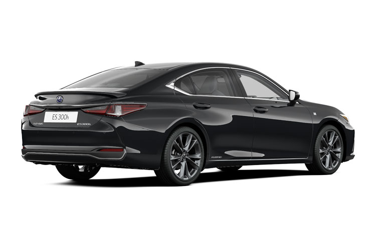 Lexus ES 300h Saloon 2.5 h 218PS F-Sport 4Dr E-CVT [Start Stop] [Takumi] back view