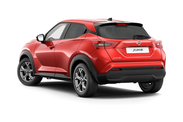 Nissan Juke SUV 1.0 DIG-T 117PS Acenta 5Dr Manual [Start Stop] back view
