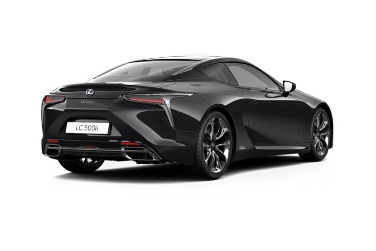 Lexus LC 500 Coupe 5.0 V8 464PS Sport 2Dr Auto [Manhattan Orange] back view