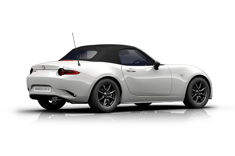 Mazda MX-5 Convertible 1.5 SKYACTIV-G 132PS Sport 2Dr Manual [Start Stop] back view