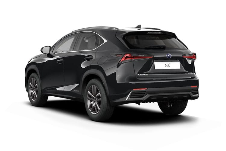 Lexus NX 300h SUV 4wd 2.5 h 197PS NX 5Dr E-CVT [Start Stop] [Sport 10in Nav] back view