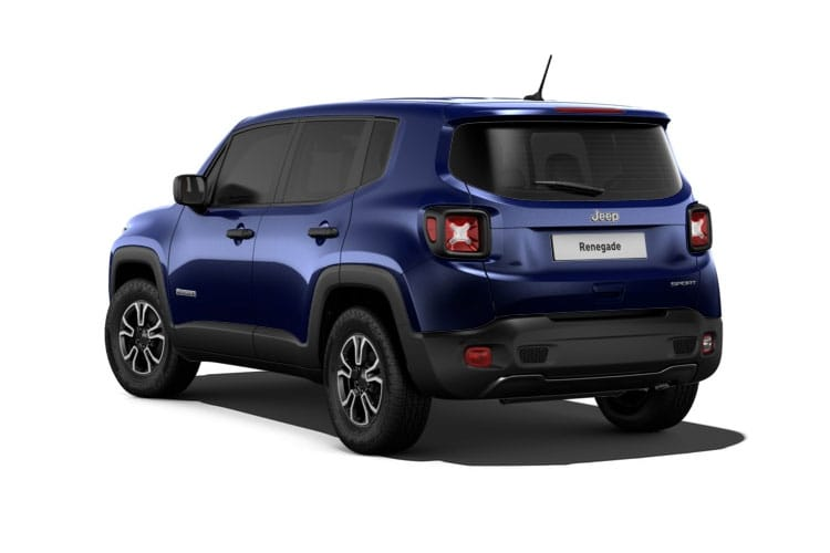 Jeep Renegade 4x4 SUV 2.0 MultiJetII 170PS Trailhawk 5Dr Auto [Start Stop] back view
