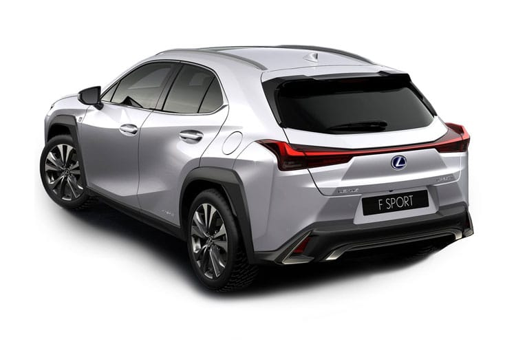 Lexus UX 250h SUV 2.0 h 184PS UX 5Dr E-CVT [Start Stop] [Prem Plus Tech Sound SRoof] back view