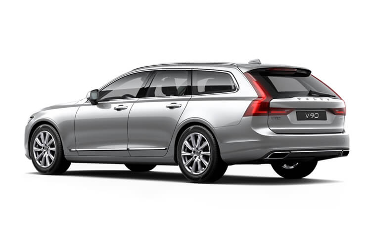 Volvo V90 Cross Country AWD 2.0 B5 MHEV 235PS  5Dr Auto [Start Stop] back view