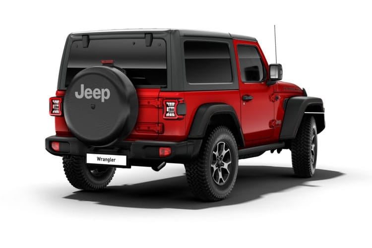 Jeep Wrangler SUV 2Dr 2.0 GME 272PS Overland 2Dr Auto [Start Stop] back view