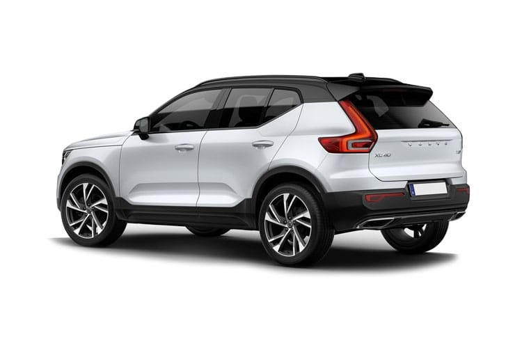 Volvo XC40 SUV AWD 2.0 B5 MHEV 250PS Inscription Pro 5Dr Auto [Start Stop] back view