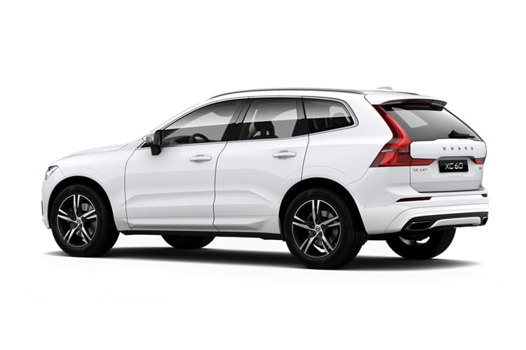 Volvo XC60 SUV AWD 2.0 B6 MHEV 300PS R DESIGN Pro 5Dr Auto [Start Stop] back view