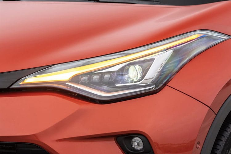 Toyota C-HR 5Dr 1.8 VVT-h 122PS Dynamic 5Dr CVT [Start Stop] [Lthr] detail view