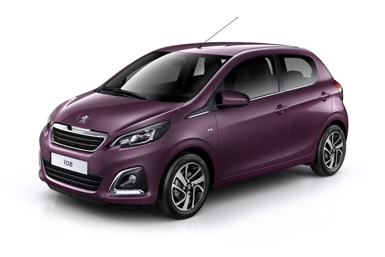 Peugeot 108 Hatch 5Dr 1.0  68PS Active 5Dr Manual front view