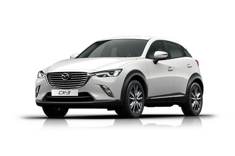 Mazda CX-3 SUV 2.0 SKYACTIV-G 121PS Sport Nav+ 5Dr Auto [Start Stop] front view