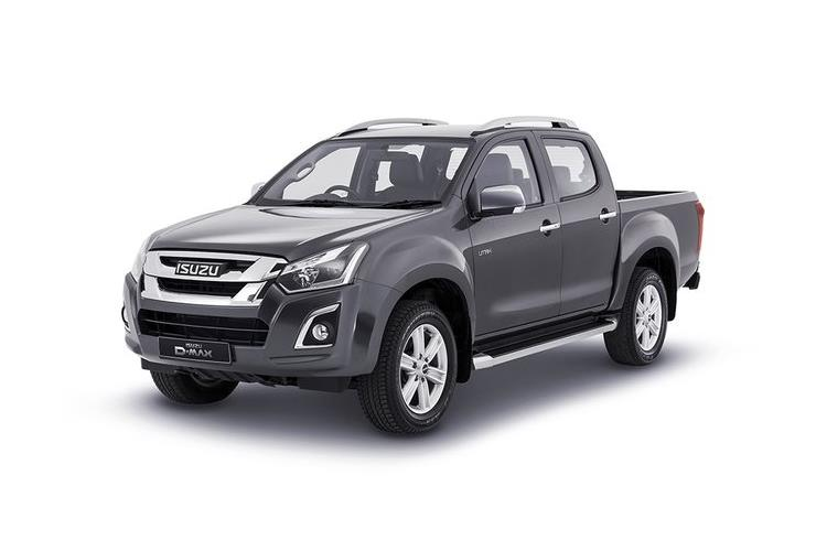 Isuzu D-MAX Pick Up 1.9 TD RWD 164PS Utility Pickup Manual [Start Stop] front view