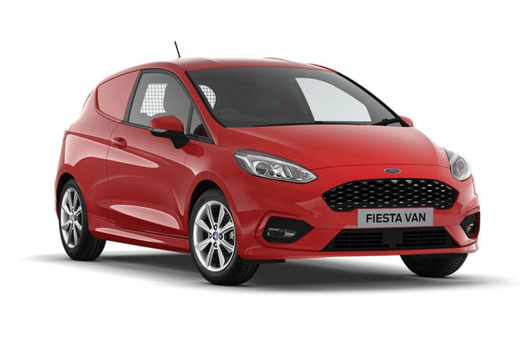 Ford Fiesta Van 1.0 T EcoBoost FWD 125PS Sport Van Manual [Start Stop] front view