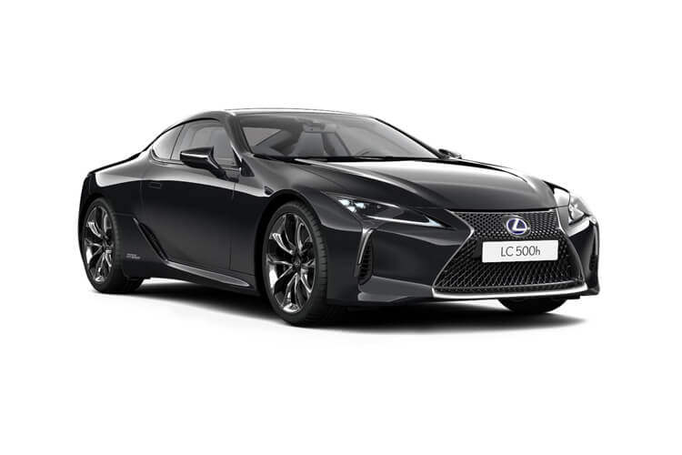 Lexus LC 500 Coupe 5.0 V8 464PS Sport 2Dr Auto [Manhattan Orange] front view