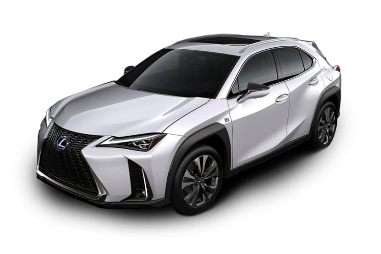 Lexus UX 250h SUV 2.0 h 184PS UX 5Dr E-CVT [Start Stop] [Prem Plus Tech Sound SRoof] front view