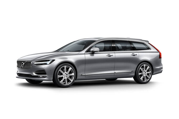 Volvo V90 Estate 2.0 B4 MHEV 197PS R DESIGN 5Dr Auto [Start Stop] front view
