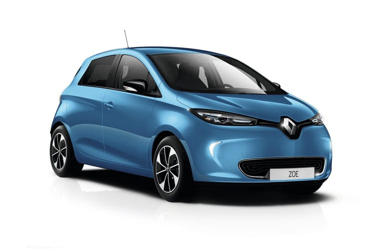 Renault Zoe Hatch 5Dr E R135 52kWh 100KW 134PS i GT Line Rapid Charge 5Dr Auto front view