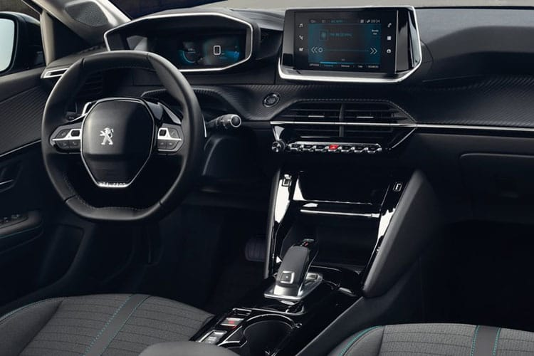 Peugeot 208 Hatch 5Dr 1.5 BlueHDi 100PS Active Premium 5Dr Manual [Start Stop] inside view