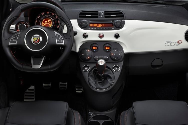 Abarth 595 C Cabrio 1.4 T-Jet 165PS Pista 70th 2Dr Auto inside view