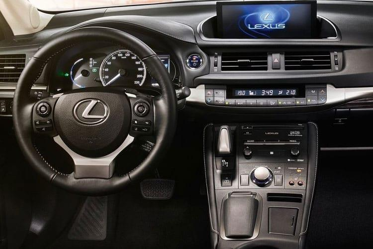 Lexus CT 200h Hatch 5Dr 1.8 h 136PS F-Sport 5Dr E-CVT [Start Stop] [Convenience Tech Lthr] inside view