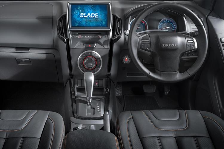 Isuzu D-MAX Pick Up 1.9 TD RWD 164PS Utility Pickup Manual [Start Stop] inside view
