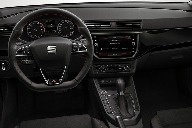 SEAT Ibiza Hatch 5Dr 1.0 MPI 80PS FR 5Dr Manual [Start Stop] inside view