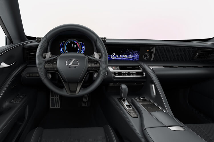 Lexus LC 500 Coupe 5.0 V8 464PS Sport 2Dr Auto [Manhattan Orange] inside view