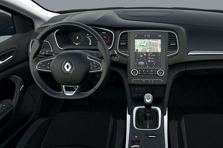 Renault Megane Sport Tourer 1.3 TCe 140PS Iconic 5Dr EDC [Start Stop] inside view