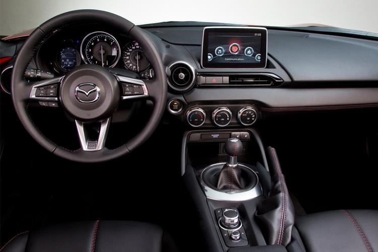 Mazda MX-5 Convertible 1.5 SKYACTIV-G 132PS Sport 2Dr Manual [Start Stop] inside view