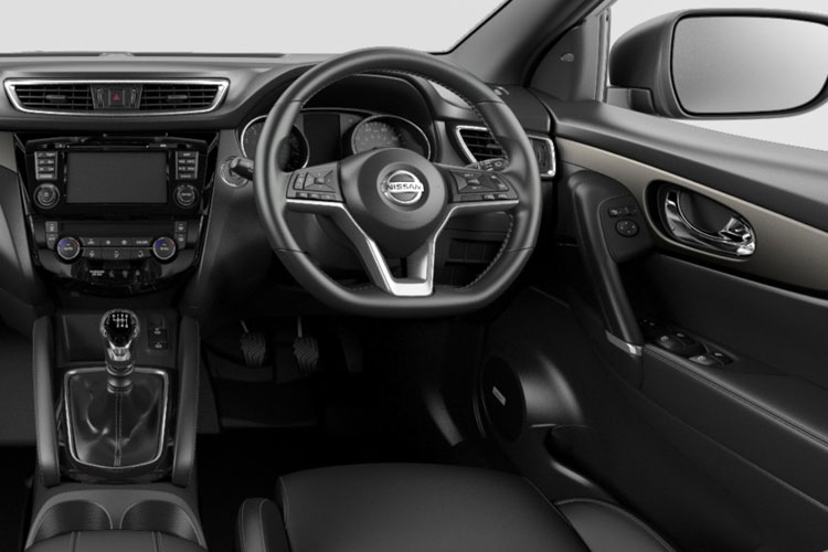 Nissan Qashqai SUV 2wd 1.5 dCi 115PS N-Tec 5Dr DCT Auto [Start Stop] inside view