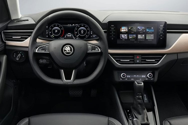 Skoda Scala Hatch 5Dr 1.0 TSi 110PS SE 5Dr Manual [Start Stop] inside view