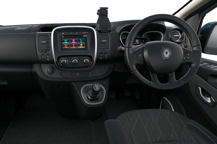 Renault Trafic 28 SWB MiniBus M1 2.0 dCi FWD 145PS Business Minibus Manual [Start Stop] [9Seat] inside view