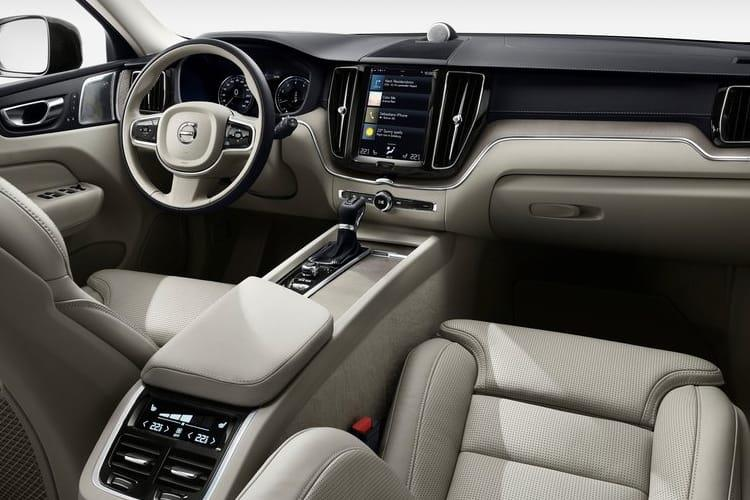 Volvo XC60 SUV AWD 2.0 B6 MHEV 300PS R DESIGN Pro 5Dr Auto [Start Stop] inside view
